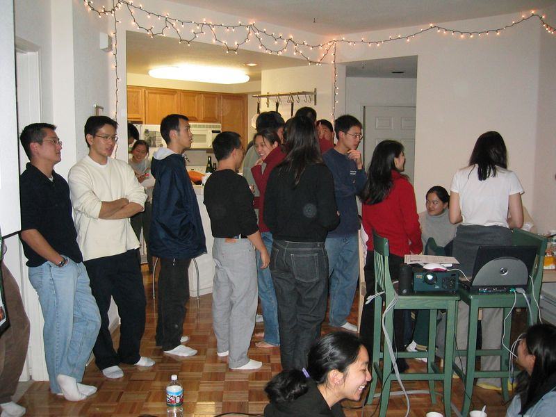 Betsy Wang's Missions Mobilization Presentation 2 @ Leslie Lin's, 1-21-2003