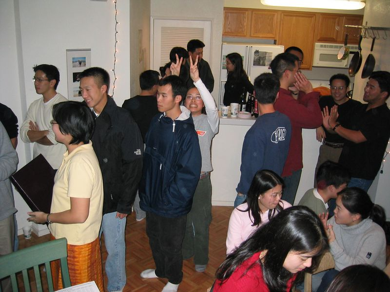 Betsy Wang's Missions Mobilization Presentation @ Leslie Lin's, 1-21-2003