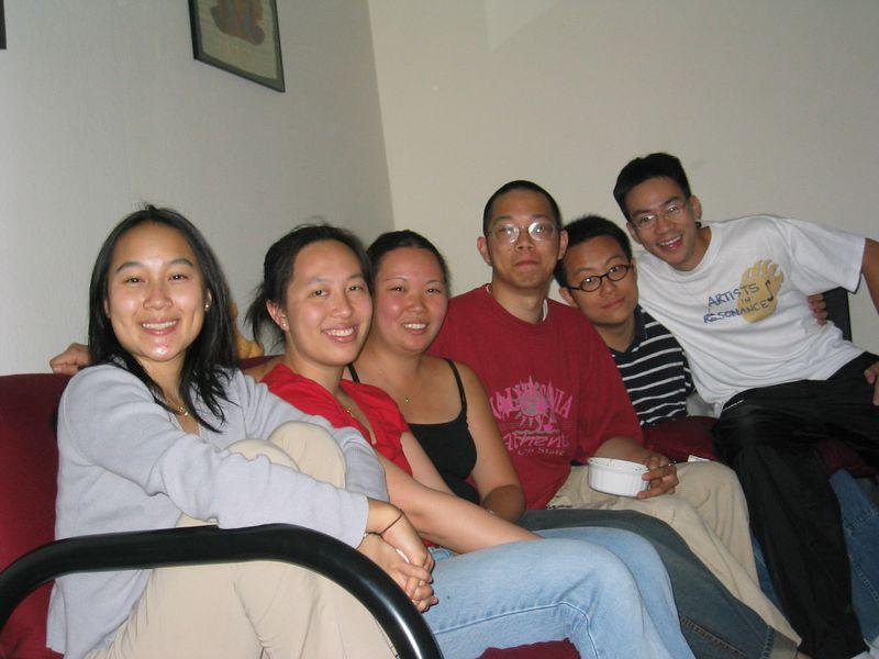 Eliza's Farewell Dinner - Melissa Lin, Wenyin Choi, Eliza Wong, Justus Pang, Andrew Gi, & Ben Yu