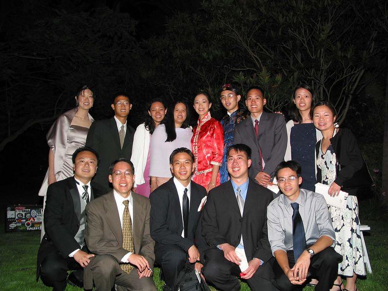 Class of '99 @ Sing-Yi's wedding