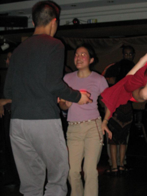 Dan Wong & Jessica Low @ Downlow V-day Salsa, 2-14-2003