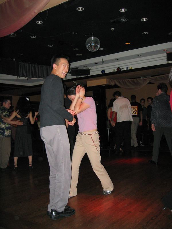 Dan Wong & Jessica Low 2 @ Downlow V-day Salsa, 2-14-2003