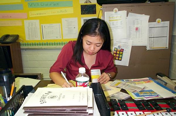 Julie Hu - The Stressed Out Teacher