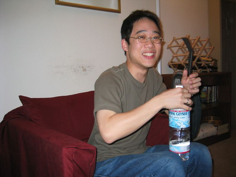 Andy Wu laugh - phase 2 @ Audrey's 5-11-03
