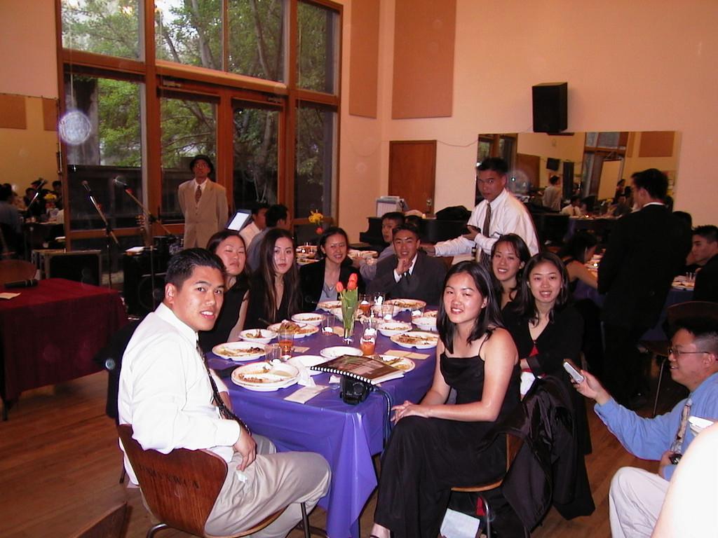 Seniors - Class of 2000 table