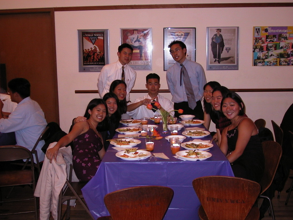Frosh - Class of 2003 table