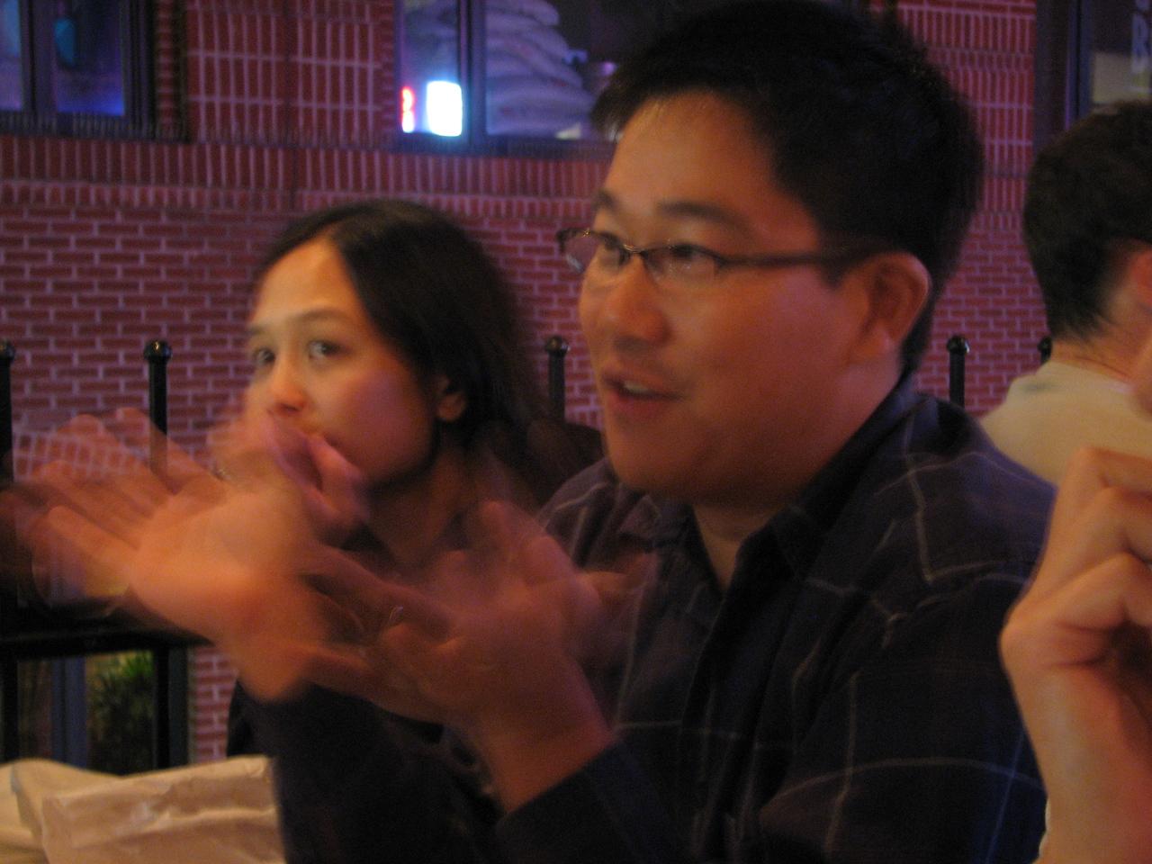 2006 10 26 Thu - Tiffany & Eric Liang
