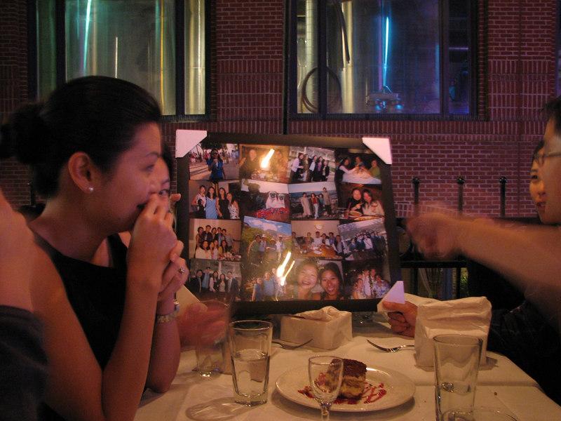2006 10 26 Thu - Josephine Tsai's collage gift 1