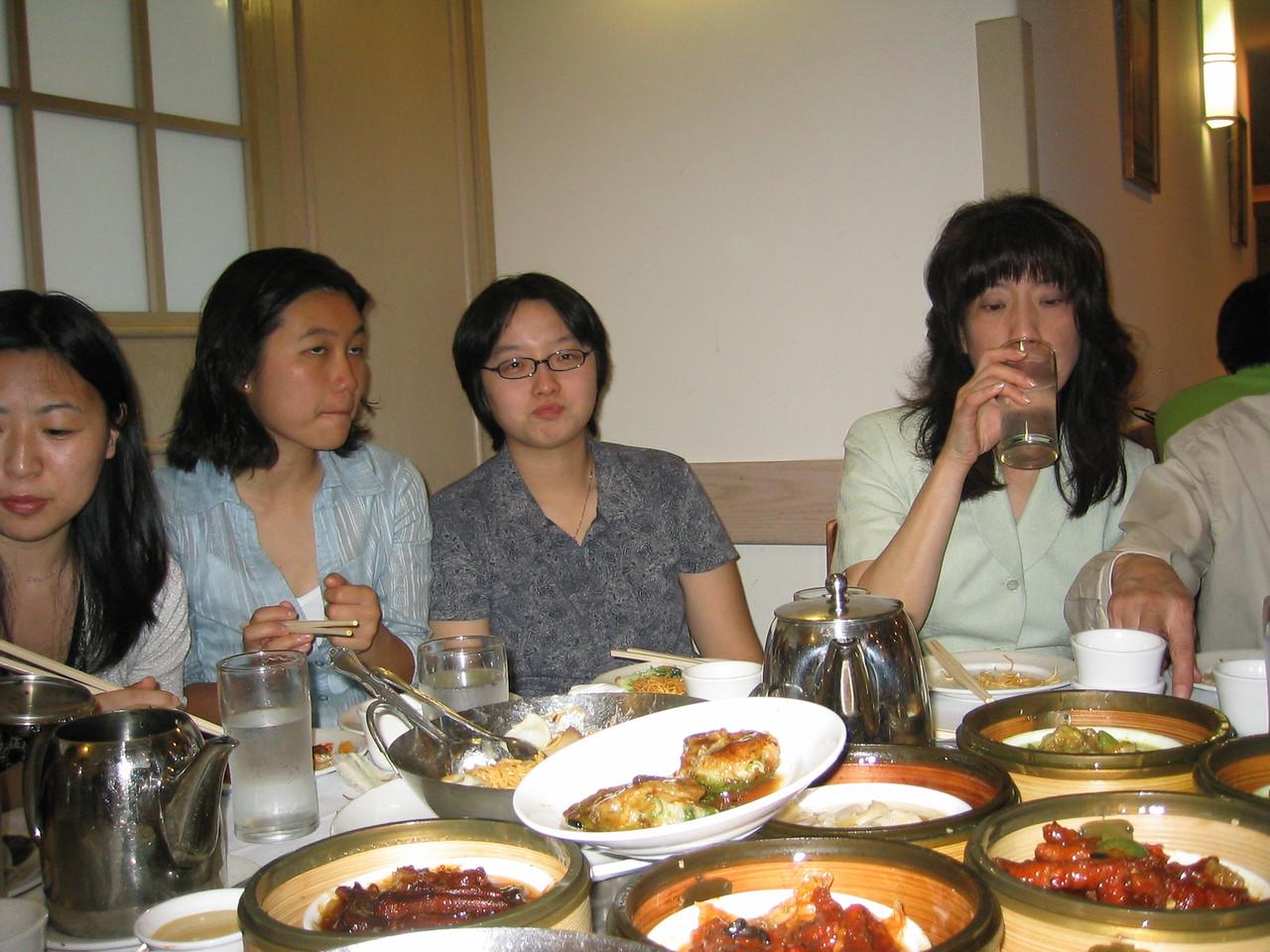 Mary, Hege, Betsy, & Mrs  Lu