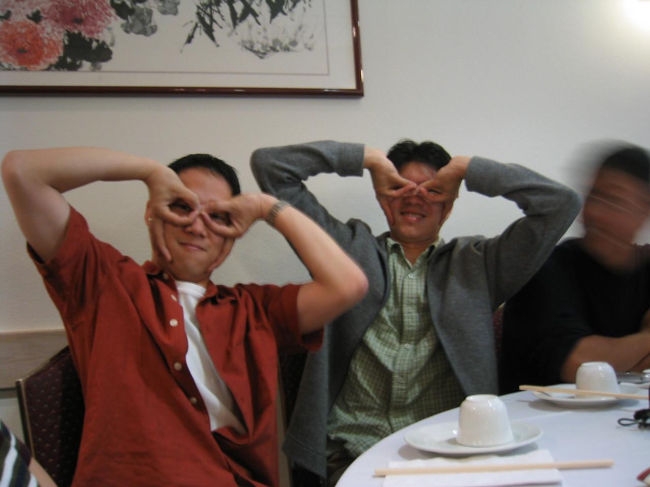 Caped Andy Crusaders - Wu & Chang