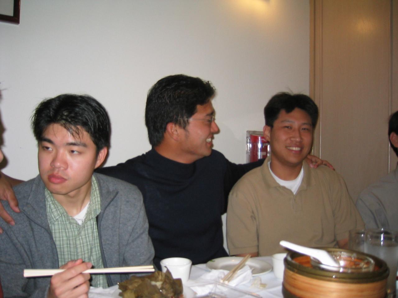 Dave's buddies, Andy Chang & Luke