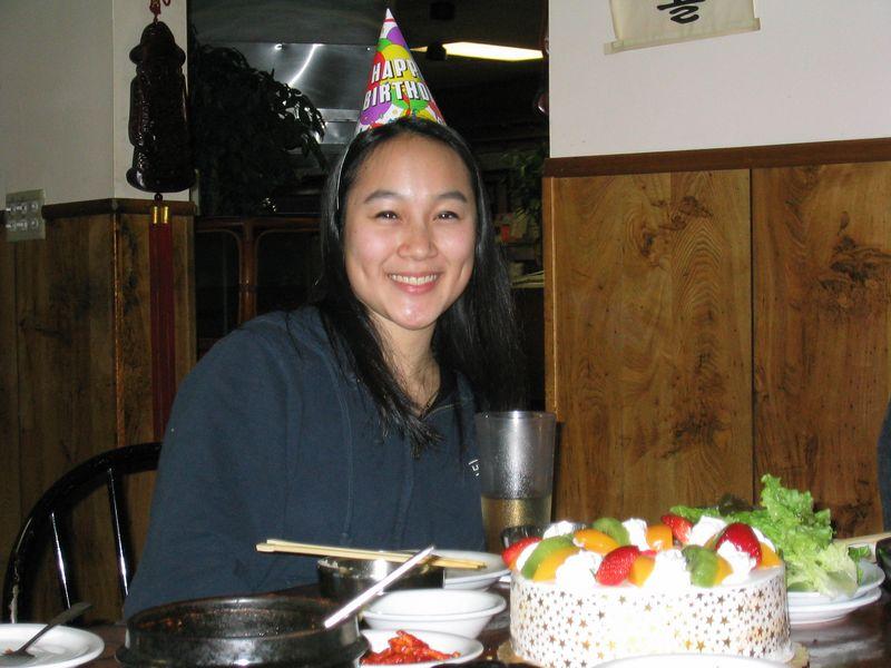 Melissa, hat & cake