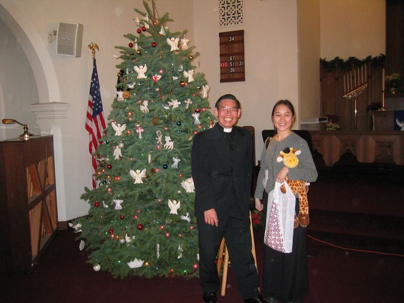 Melissa and Pastor Chen