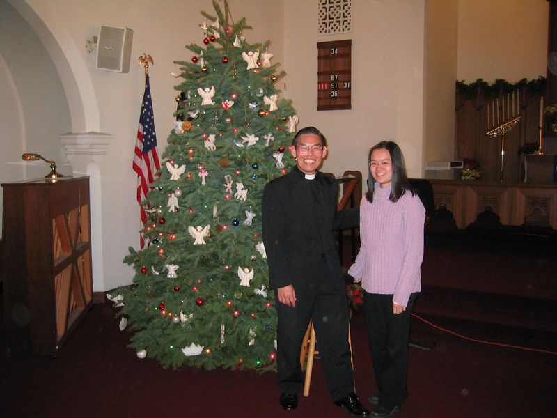 Christine and Pastor Chen