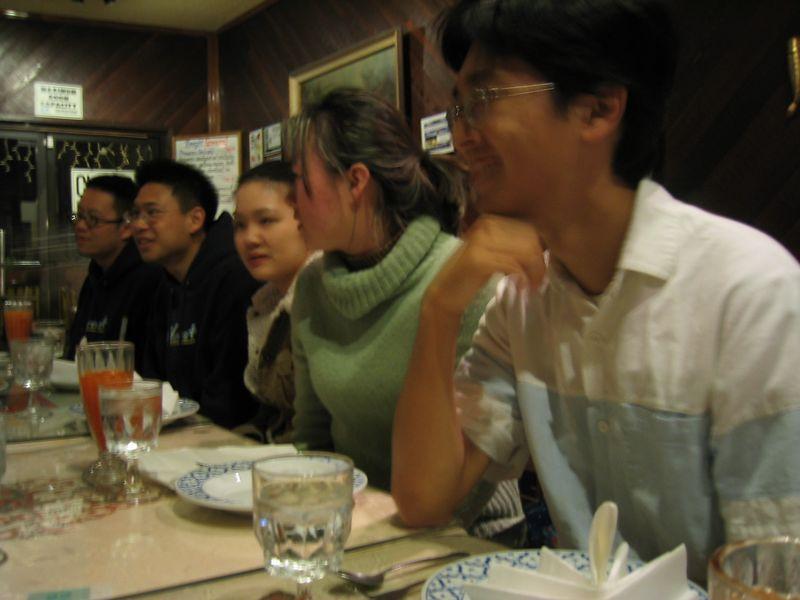 Rita's B-day Dinner @ Thai House 3-15-2003, west side
