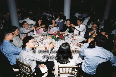 Sing-Yi's Wedding - Class o' 99 table