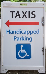 Taxis Hcap Parking