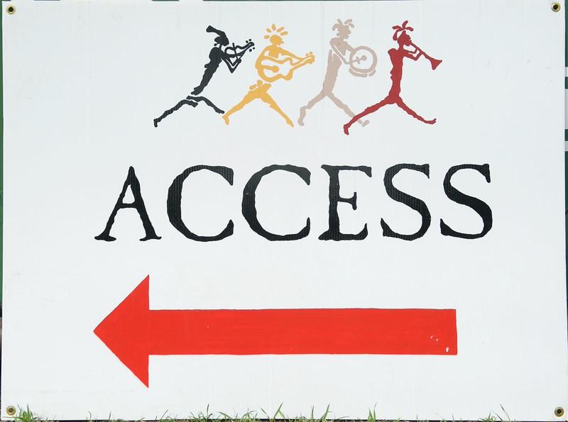 Access arrow L