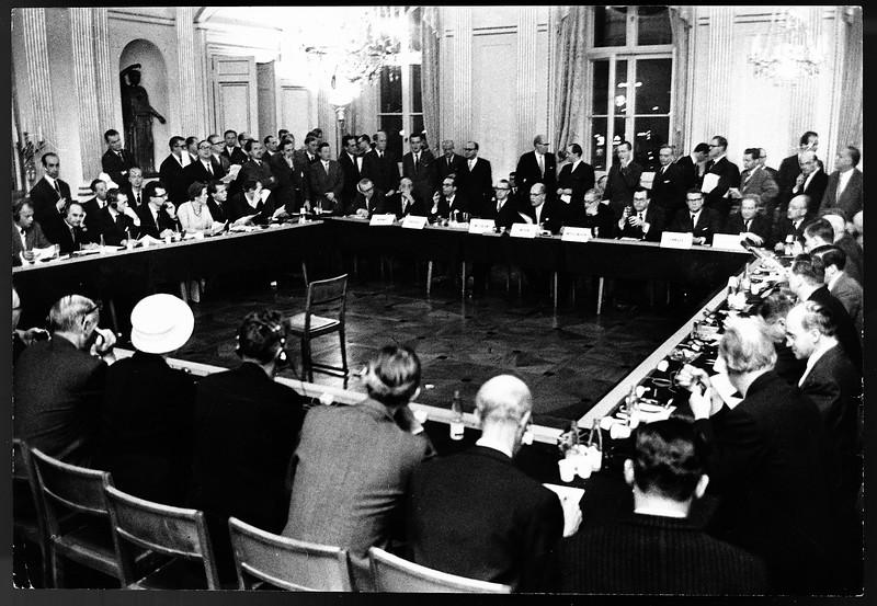The EFTA Convention was initialled in Stockholm on 20 November 1959 (Photo: EFTA)