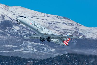 SkyWest Bombardier CL-600-2C10 CRJ-700 N740SK 1-8-21
