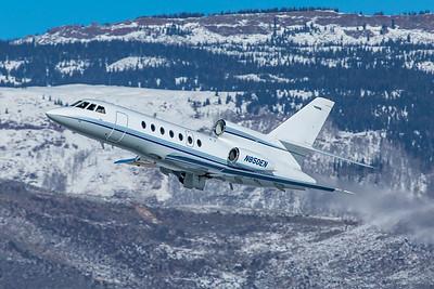 Dassault Falcon-50EX N850EN 1-8-21