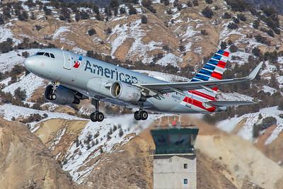 American Airlines Airbus A319-115 N9002U 1-8-21