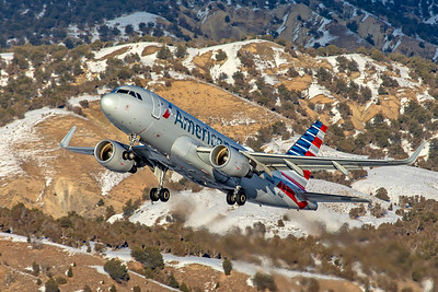 American Airlines Airbus A319-115 N3014R 1-7-21