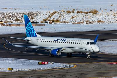 SkyWest Embraer ERJ-170-200LL N612UX 1-8-21 2