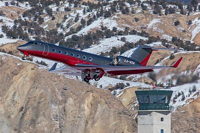 Gulfstream G550 XA-WOW 1-8-21