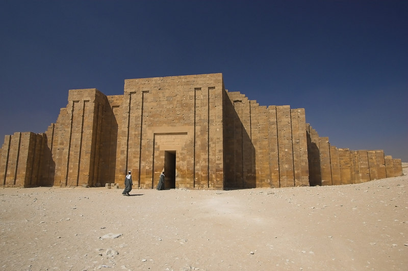 Gateway into the Past<br /> Temple Complex at Saqqara