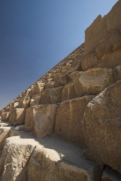 Inner Blocks of the Great Pyramid