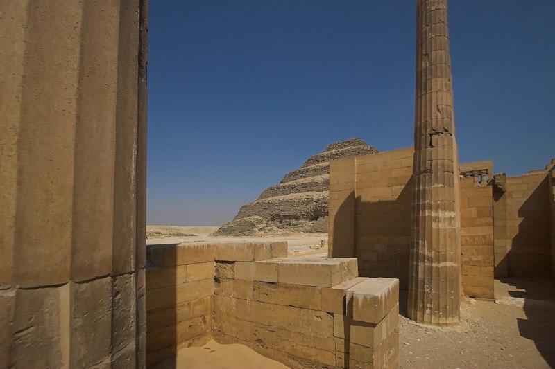 Saqqara Temple and Pyramid