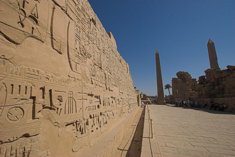 Obelisks and Hieroglyphs<br /> Karnak Temple Complex