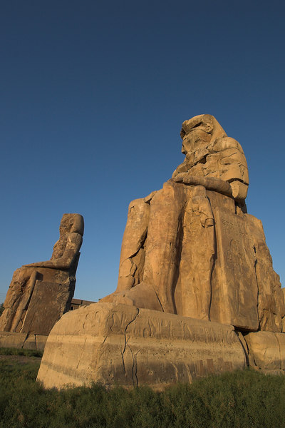 The Colossi of Memnon<br /> Luxor