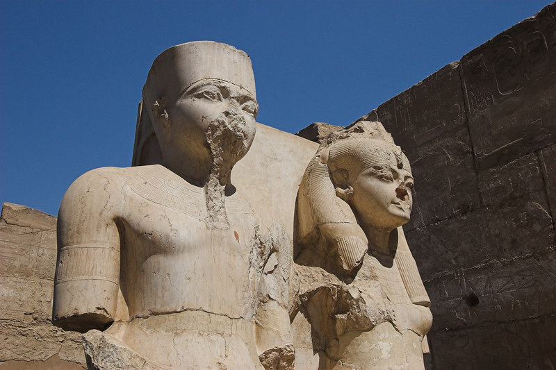 King & Queen<br /> Luxor Temple