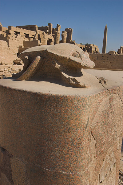 The Sacred Scarab<br /> Karnak Temple Complex