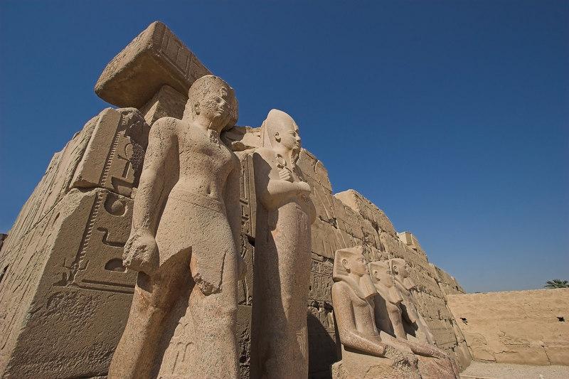 Family Portrait<br /> Karnak Temple Complex