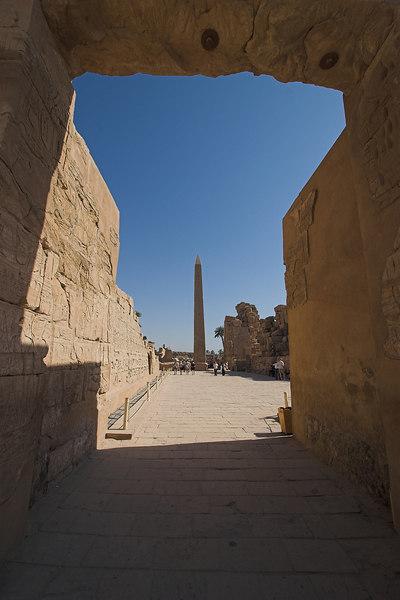 Obelisk<br /> Karnak Temple Complex