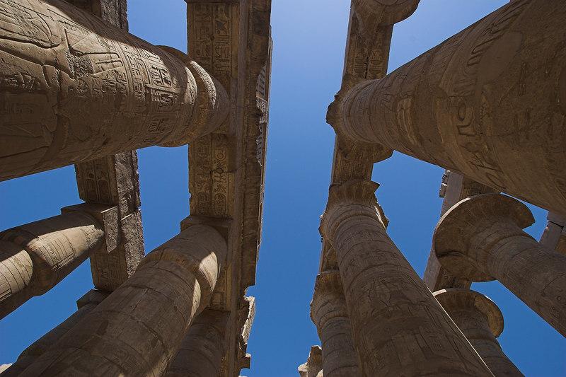 Hypostyle Hall<br /> Karnak Temple Complex