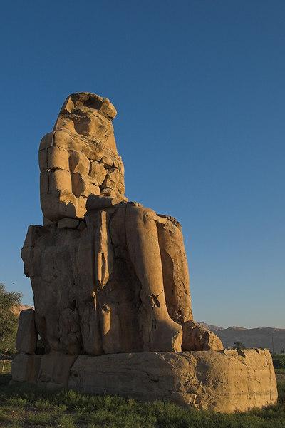 The Colossi of Memnon<br /> Luxor