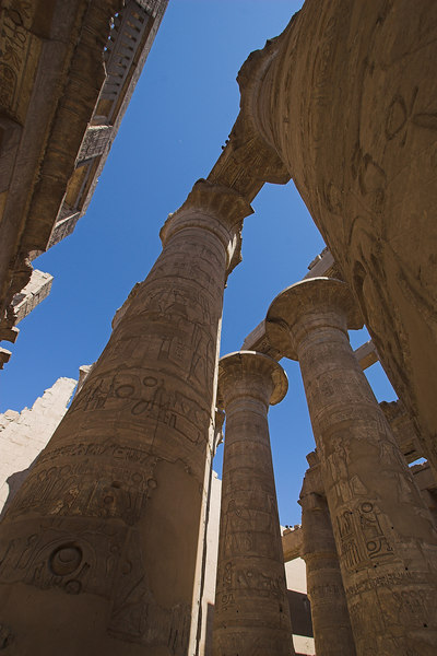 Hypostyle Hall<br /> Karnak Temple Complex