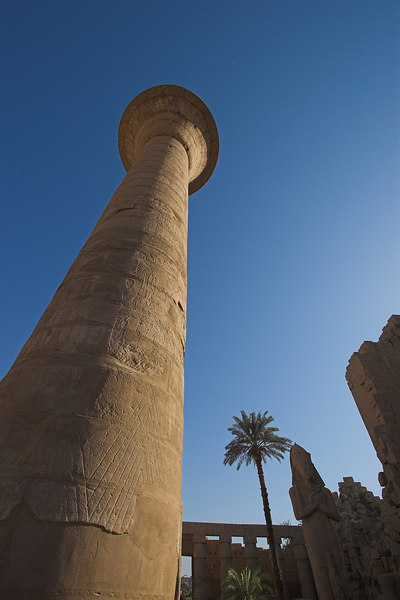 Karnak Temple Complex<br /> Colonnade of Taharqa