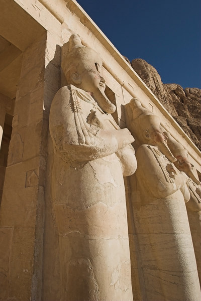 Temple of Hatshepsut<br /> Statue Detail