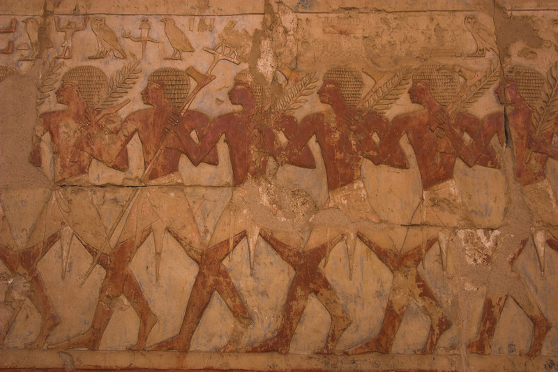 Hatshepsut's Temple<br /> Wall Relief