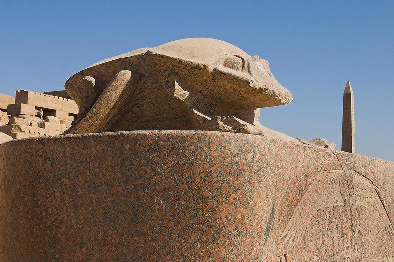 The Sacred Scarab<br /> Karnak Temple Complex