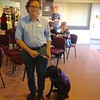 Guide Dog with trainer