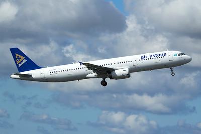 Air Astana Airbus A321-231 P4-KDA 9-27-15