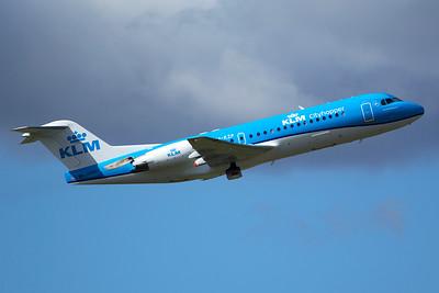 KLM Cityhopper Fokker 70 PH-KZP 9-27-15