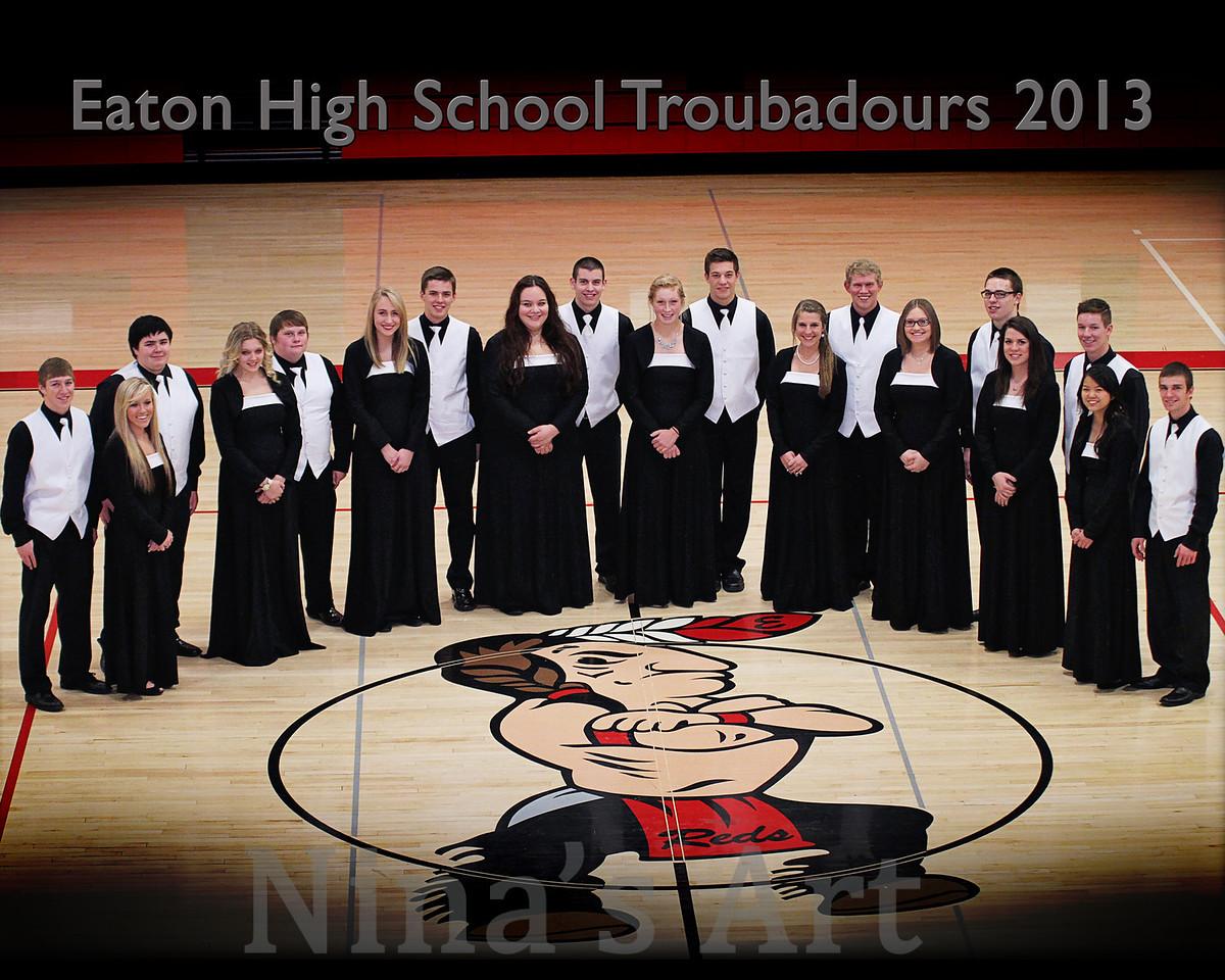Troubadours 8x10