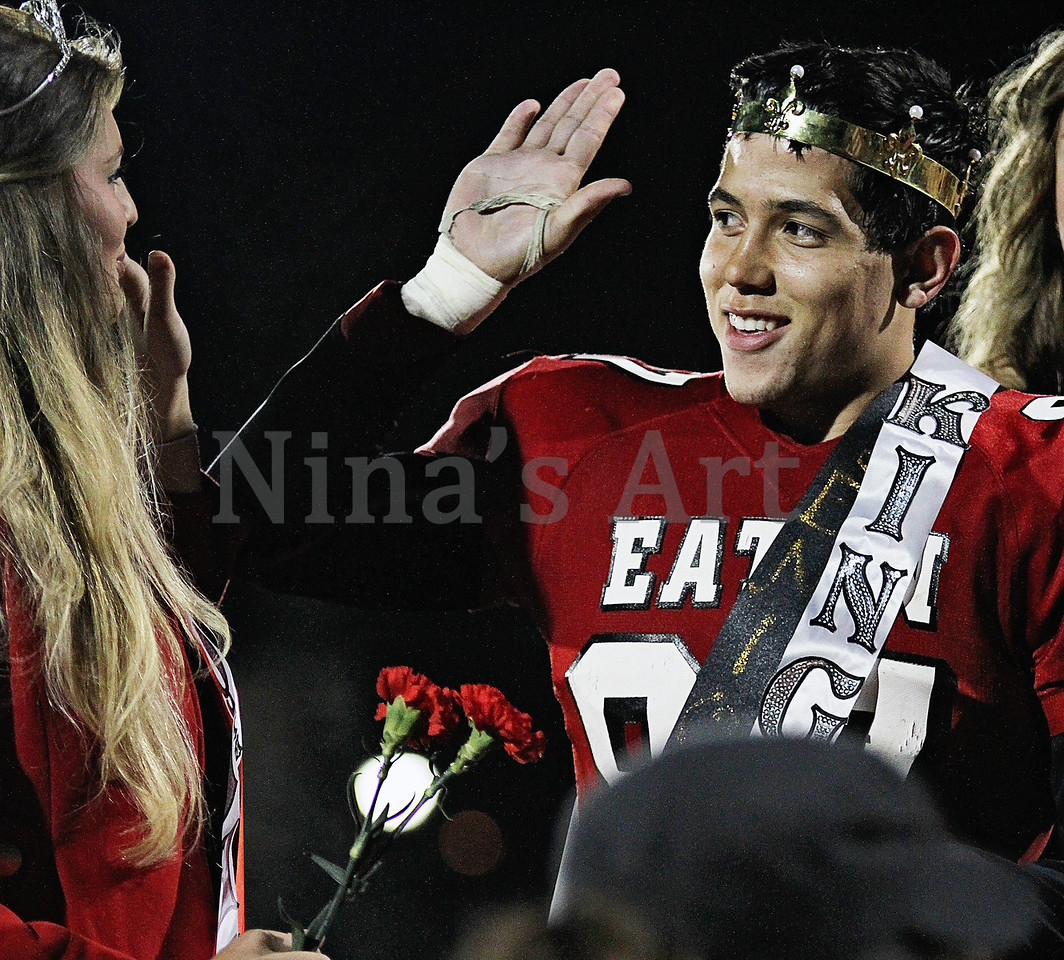 High Five for King and a Queen